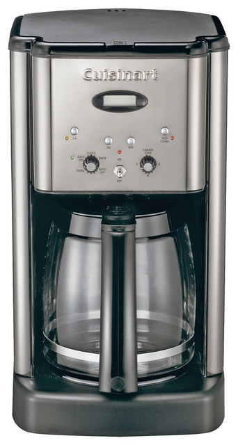 Cuisinart Brew Central 12-Cup Programmable Coffeemaker. Chrome contemporary-coffee-and-tea-makers