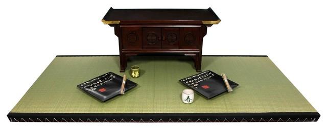 6' x 3' Full Size Tatami Mat traditional-rugs