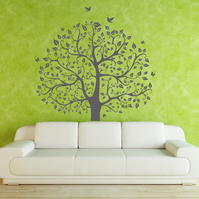 Your canvas with four walls for Mural go green