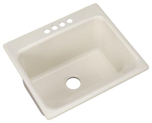 Thermocast Sink : Thermocast Utility Sinks Kensington Drop-in Acrylic 25x22x12 4-Hole ...