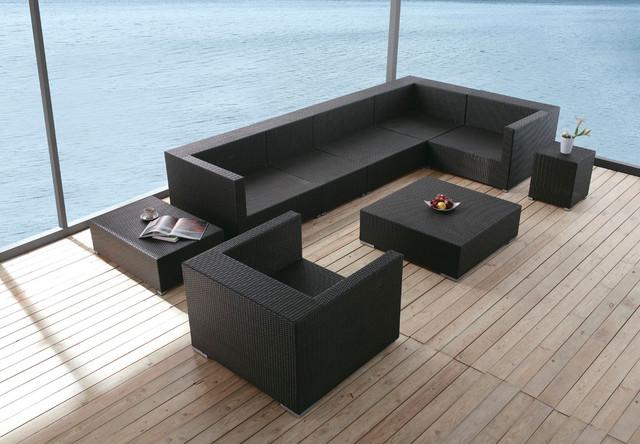 Koro Outdoor Sofa Set Modern Outdoor Lounge Sets los  : modern outdoor lounge sets from www.houzz.com size 640 x 444 jpeg 89kB