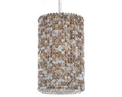 Matrix Cylindrical Drum contemporary-pendant-lighting