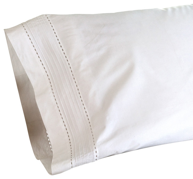 traditional bed pillows and pillowcases by Taylor Linens