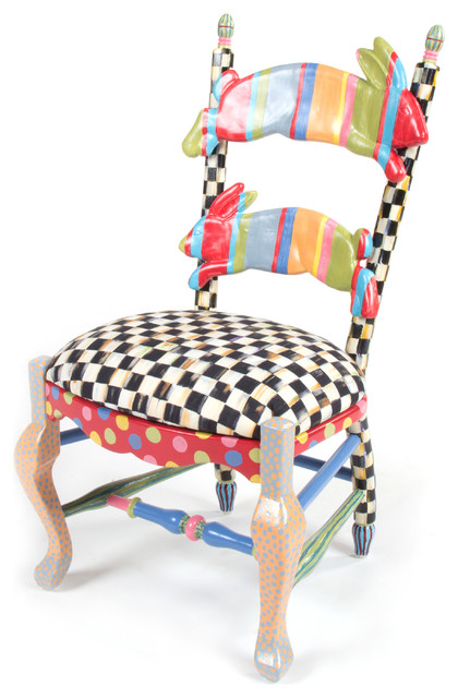 Rabbit Chair | MacKenzie-Childs - Eclectic - Kids Chairs - other metro - by MacKenzie-Childs