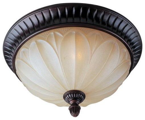 Maxim Allentown Ceiling Light - 15W in. Oil Rubbed Bronze traditional ceiling lighting