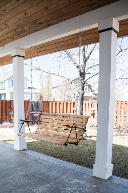 Outdoor Porch Swing - Modern - Outdoor Chairs - denver - by ...