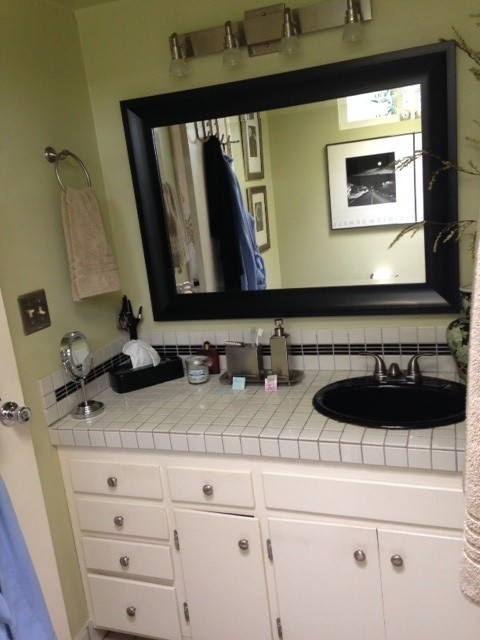 Would Love Ideas For Repainting Bathroom Cabinets