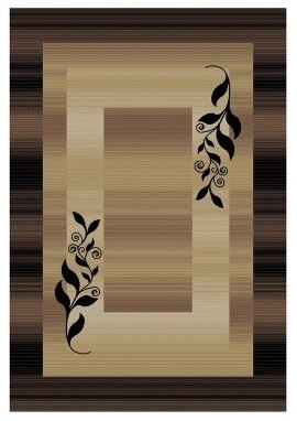 Molly Area Rug - Gold modern-rugs