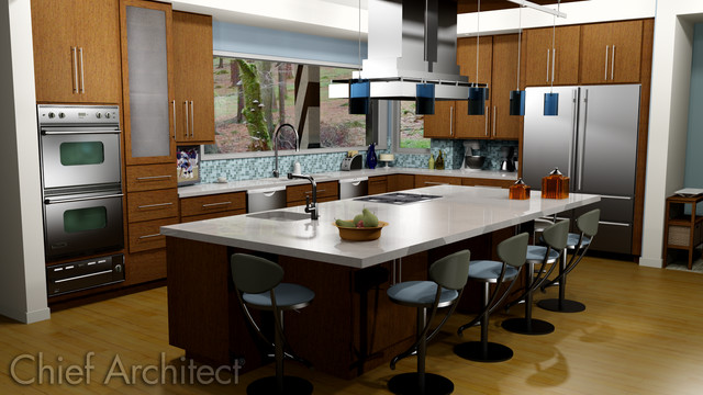 Kitchens Contemporary Other Metro By Chief Architect
