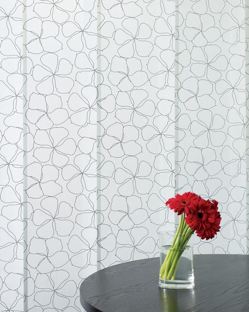 Screen shades contemporary-window-treatments
