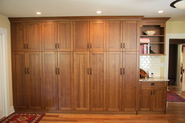 Wall Unit - Display And Wall Shelves - vancouver - by Arts Custom Woodcrafting Inc.
