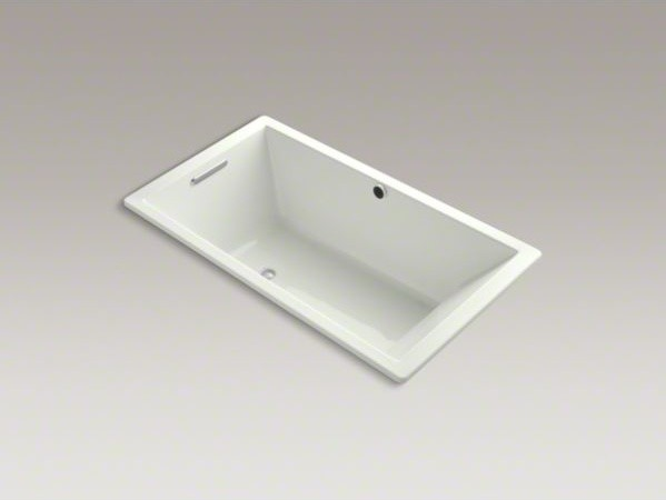 """KOHLER Underscore(R) 66"""" x 36"""" drop-in bath with Bask(TM) heated surface and rev contemporary-bathtubs"""