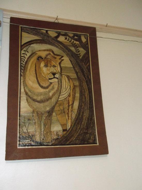 Mosaic- African Lion -