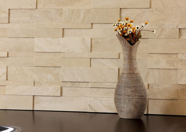 3d Natural Stone Wall Cladding Saturnia Travertine