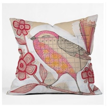 Cori Dantini Wee Lass Throw Pillow modern-decorative-pillows