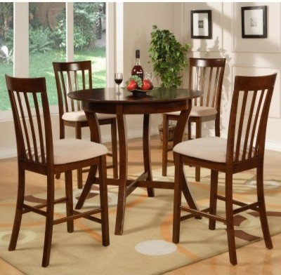 Powell York 5 Pc Counter Height Dining Table Set Modern Dining Tables