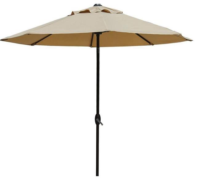 abba patio 9 ft outdoor patio umbrella contemporary