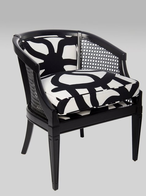 Black High Gloss Cane Chair Armchairs And Accent Chairs  :  chairs from www.houzz.com size 476 x 640 jpeg 50kB