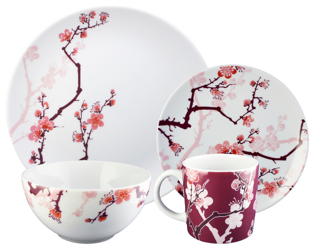 ... Ink 16-piece Dinnerware Set - Asian - Dinnerware Sets - by Ink Dish