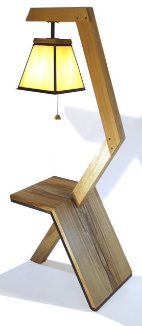floor lamp end table combo modern side tables and end tables. Black Bedroom Furniture Sets. Home Design Ideas