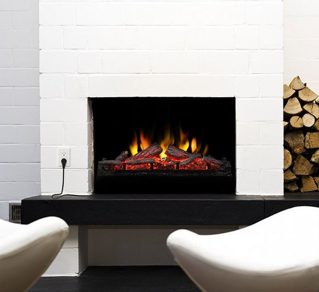 Muskoka 24 In Electric Fireplace Insert Log Set Mfi2500