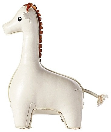 Menagerie Bookend, White Giraffe contemporary kids decor