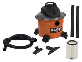 RIDGID Vacuum. 9-Gal. Wet/Dry Vac WD0970 - Contemporary - Vacuum Cleaners - by Home Depot
