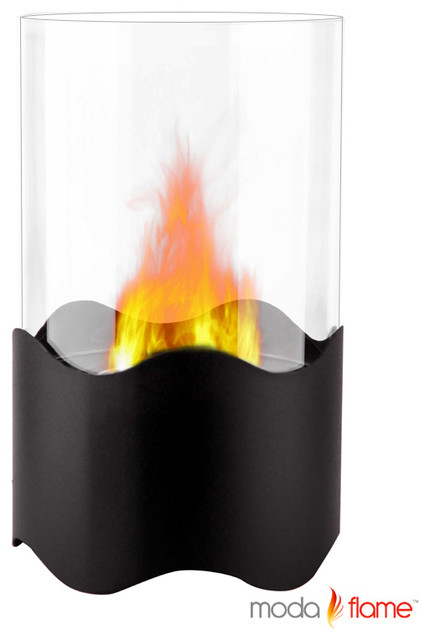 Sky Table Top Fire Pit Bio Ethanol Fireplace In Black By