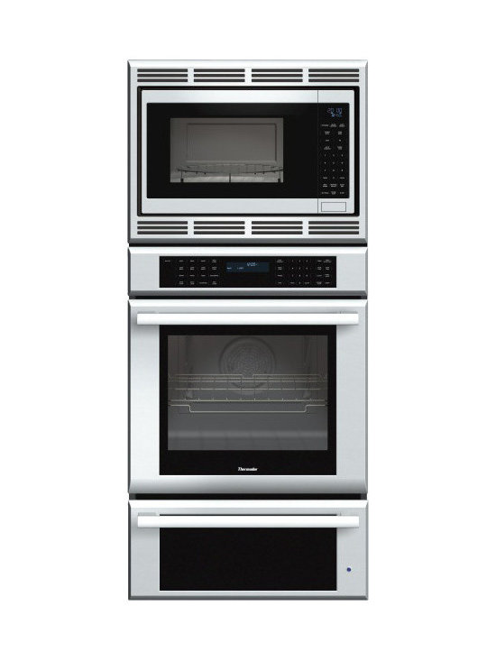 """Thermador Masterpiece 27"""" Triple Combination Wall Oven, Stainless 