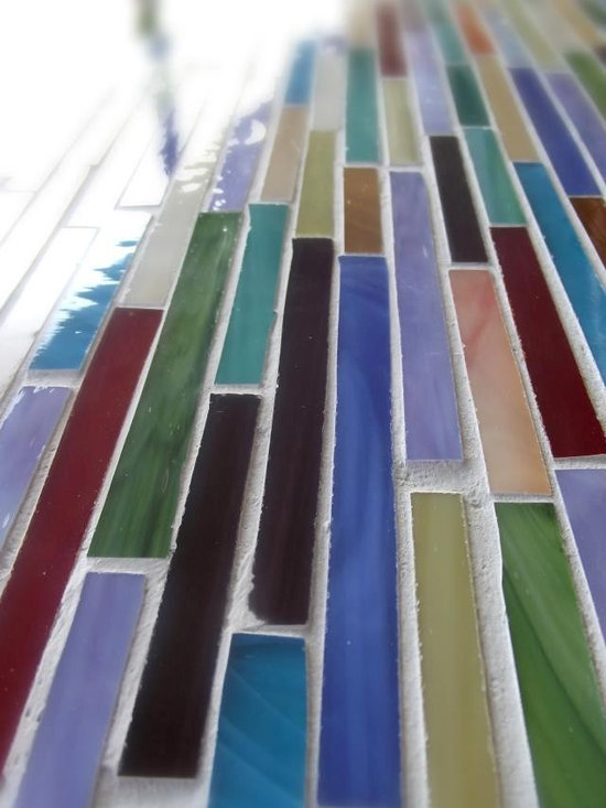 Luxury Mosaic Collection - Luxury Mosaic Collection - all items can be customized. (stone selection, color, finish - tumbled, honed, polished)