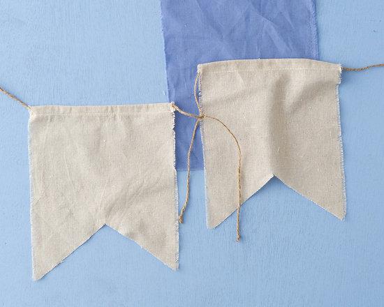 Linen Banner Garland -