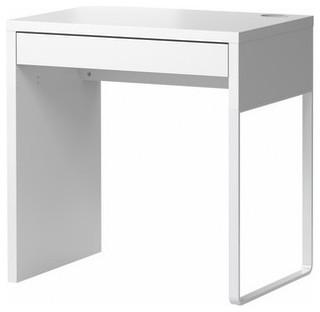 Micke Desk White Scandinavian Desks And Hutches By IKEA