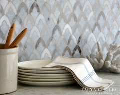 Sophia, Talya Collection by Sara Baldwin for Marble Systems traditional kitchen tile