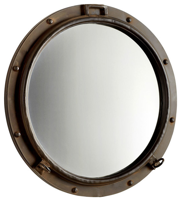Porto Mirror - Industrial - Wall Mirrors - by Bliss Home & Design