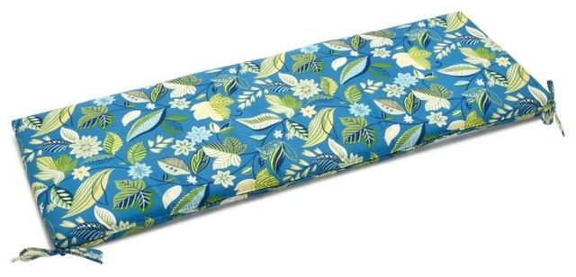 Blazing Needles 54 x 19 in. Outdoor UV Resistant Patio Bench / Swing Cushion - 9 modern-outdoor-decor