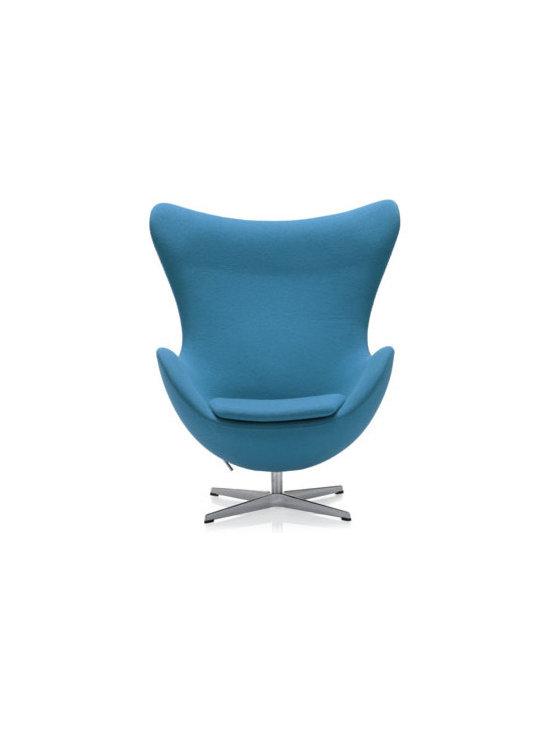 Egg Chair Aqua - The egg chair in aqua