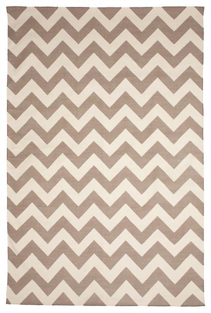 Zig Zag Jaipuri4 x 6Rug contemporary-rugs
