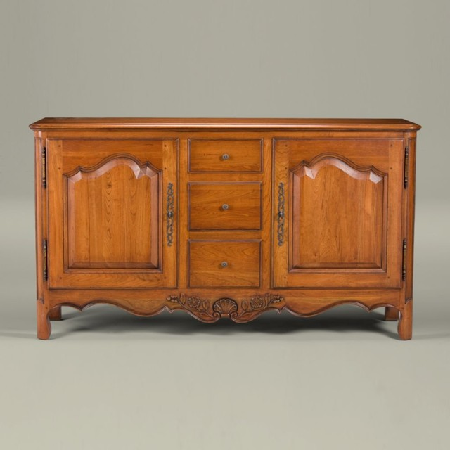 maison by ethan allen bellanger sideboard traditional-buffets-and-sideboards