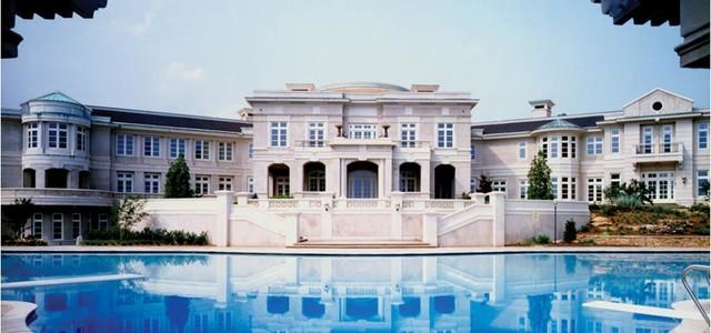 Evander Holyfield Home mediterranean