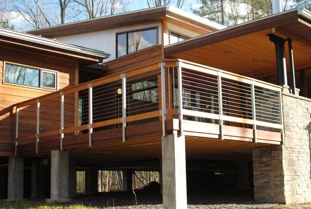 Woodland Retreat contemporary-exterior