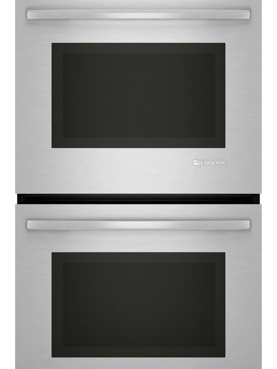 """Jenn-Air 27"""" Double Electric Wall Oven, Stainless Steel With Black 