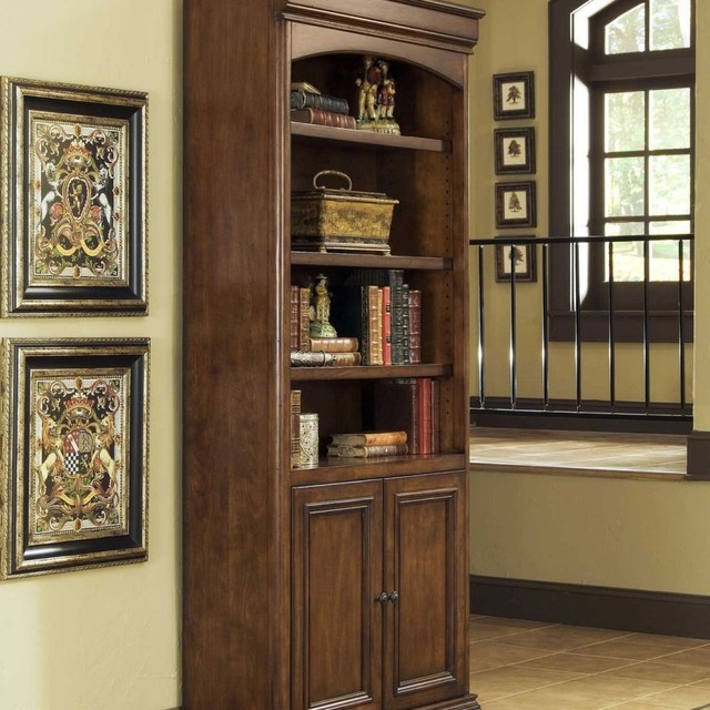 Whalen Villa Tuscano Bookcase with Doors traditional-bookcases