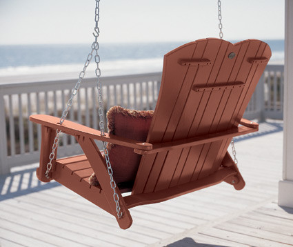 Classic Adirondack Swing traditional outdoor swingsets