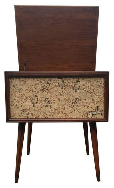 Used RCA Victor 1964 Console Highboy Record Player - Modern - Paintings - by Chairish