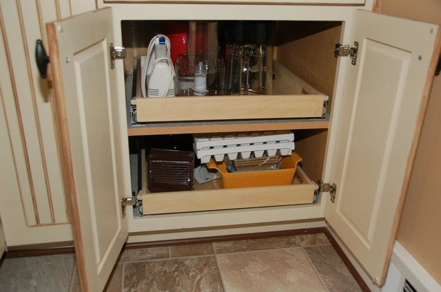 Single-Height Pull Out Shelves - louisville - by ...