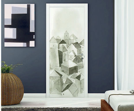 ART Lacquer Interior Door by GD modern-interior-doors