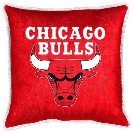NBA Chicago Bulls Sidelines Toss Pillow contemporary-decorative-pillows