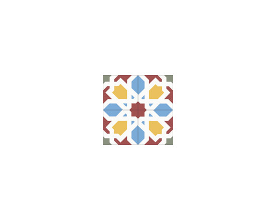 Morisco Big - 8x8 Cement Tile