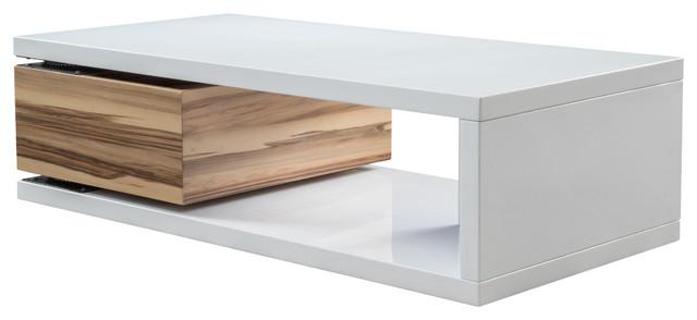 Modern Rectangular Coffee Table : Cullen Rectangular Rotatable Mod Coffee Table - Modern - Coffee Tables ...