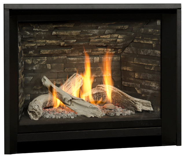 H5 Series Fireplace contemporary